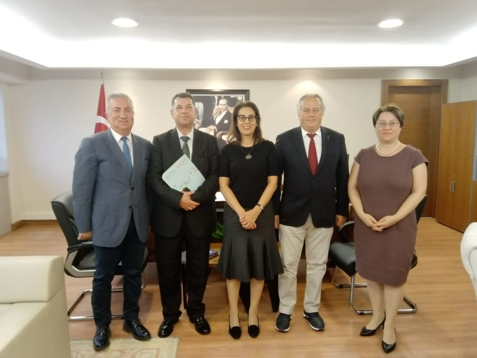 ALF HoN Turkey visited the Ministry of Foreign Affairs